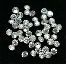 1.1-1.75 mm Round VS/D Brilliant Natural Earth mined Certified Diamond lot