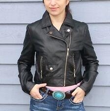 New $68 DOLLHOUSE Junior Womens Size M Motorcycle Moto Biker Jacket Faux Leather