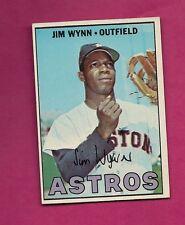 1967 TOPPS # 390 ASTROS JIM WYNN  NRMT CARD (INV# A4166)