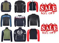 Sergio Tacchini Men's Tracktop Jackets Zip Top Sports Top Navy/Green/Black/Navy