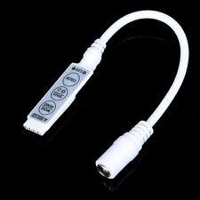 Mini 3Key IR Remote Controller for 3528 5050 RGB LED Strip Free Shipping