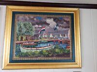 Beautiful oil on canvas by Hermann Friedrich Bieling  (1887 - 1964)