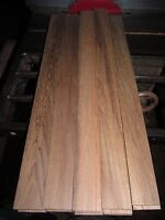 "Exotic Wood Premium Marine Teak Lumber  1.5"" X 15"" X 1/4"""