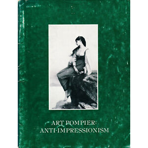 Art Pompier Anti-Impressionism 19th Century French Salon Painting