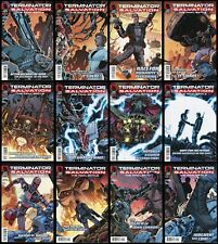 Terminator Salvation The Final Battle Comic Set 1-2-3-4-5-6-7-8-9-10-11-12 Lot