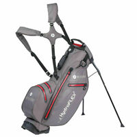 Motocaddy HydroFlex 100% Waterproof Stand Bag Charcoal/Red Brand New 2021 Model