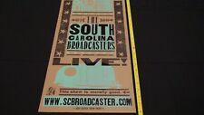 2009 South Carolina Broadcasters Live! Hatch Print!