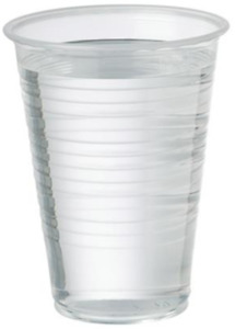 Clear Plastic Cups 7oz Water Cups For Coolers / Vending Disposable Plastic Cups