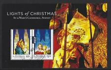 AUSTRALIA 2017 LIGHTS OF CHRISTMAS MINIATURE SHEET FINE USED