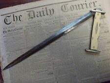 Very rare antique Sheffield Bowie knife, folding Bowie knife, folding dirk knife
