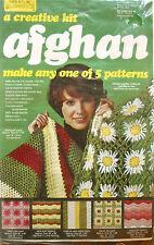 #8000 - Yarn Kits, Inc. Vintage Afghan Kit #2 (Make 1 Of 5 Patterns) - New!