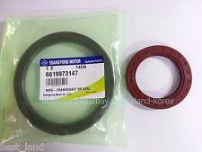 Genuine Crankshaft FRT&RR Sealing:2p for REXTON, STAVIC/RODIUS  #6659973046+
