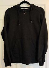 EASTON M10 Tech Fleece Hoodie Pullover Jacket Sweatshirt Mens Small Grey Hoody