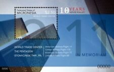 Micronesia- September 11, 10th Memorial Anniversary Stamp Souvenir Sheet Mnh