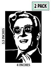 2 Pack Dr Strangelove Stickers Vinyl Decal Stanley Kubrick Peter George