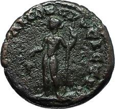 ELAGABALUS Nicopolis ad Istrum Authentic Ancient Roman Coin DIONYSUS i66326