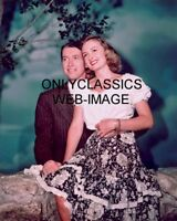1946 JAMES STEWART-DONNA REED IT'S A WONDERFUL LIFE COLOR MOVIE PHOTO AMERICANA
