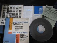 Cannonball Adderley Autumn Herbie Hancock Maiden Japan Vinyl EP Miles Davis Jazz