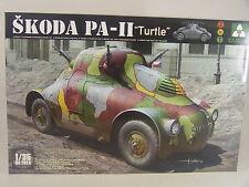 Skoda PA-II Turtle Panzerwagen -  Takom   Bausatz 1:35 - 2024 #E