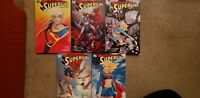 Supergirl Deluxe Edition SC TP/TPB lot; 1,2,3,4,5,
