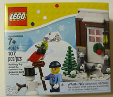 Lego 40124 WINTER FUN CHRISTMAS SEASONAL SET ~ 107 Pieces