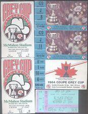 HUGE CFL Collecton.  Grey Cup Programs, Tickets, etc.
