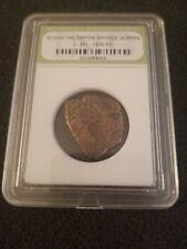 Byzantine Empire Bronze Nummis Coin 491 - 1200 A.D. Encased