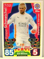 Match Attax 2017/18 Premier League - #MT006 Kasper Schmeichel - Defensive Heroes