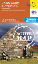 OL57 Cairn Gorm and Aviemore Laminated Active Explorer Map OL 57