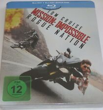 Mission Impossible 5 - Rogue Nation - 2 Blu-ray/NEUAction//Tom Cruise/Steelbook