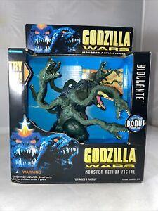 "1995 Trendmasters Godzilla Wars BIOLLANTE TERRIFYING ROAR 6"" Figure NEW IN BOX"