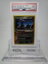 PSA 9 MINT Dark Houndoom PRERELEASE Team Rocket Returns Pokemon Card 37/109  B43