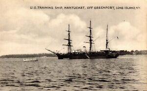 USS Nantucket Training Ship Greenport Long Island NY Former USS Ranger Rockport
