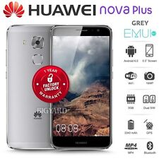 "New Unlocked HUAWEI Nova Plus Grey 5.5"" Dual SIM 32GB 4G Android Mobile Phone"