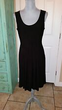 JONES OF NEW YORK, Black sleeveless, stretchy, lined dress in size 6
