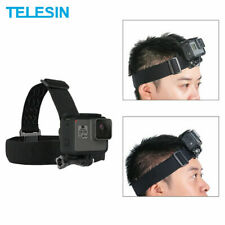 TELESIN Head Strap Mount Headband for GoPro Hero 8 7 6 5 4 Osmo Action USA