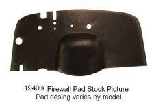 1941 1949 International Firewall Pad