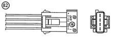 Genuine NGK OZA628-U3 Lambda O2 Sensor for Citroen Mini Peugeot see list