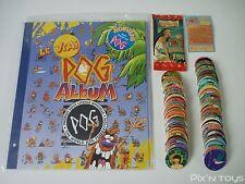 Série complète Pog Pocahontas 100/100 ( Doré ) + Album [ NEUF ]
