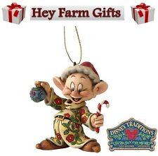 SALE Disney Traditions The Seven Dwarfs Dopey Hanging Christmas Tree Decoration
