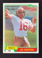 1981 Topps Joe Montana Rookie RC #216 PSA BGS 9 or 10 Potential - LOOK!