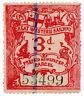 (I.B) Great Western Railway : Prepaid Newspaper Parcel 3d