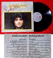 LP Costa Cordalis: Dich Berühren (Ariola 205 881-365) D 1983 - Signiert -