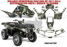 AMR RACING DEKOR GRAPHIC KIT ATV POLARIS SPORTSMAN MODELLE MAD HATTER B