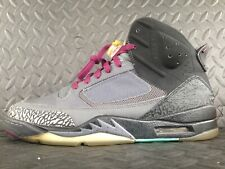Jordan Son of Mars 512245-038 Grey Bordeaux sz 11