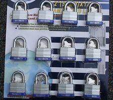 12 Security High Quality Lock Set W Same Matching Keys Locks Boat Door Tool Wow