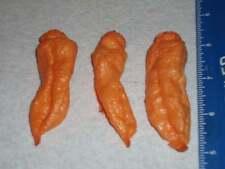25 Premium Peach Bhut Jolokia Pepper Seeds From organically Grown Plants - C 059