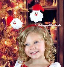Halloween Twin Xmas Santa Claus Headband Decor Kids Unisex Girls Party Costumes