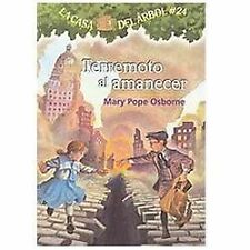 Terremoto Despues del Amanecer by Mary Pope Osborne (2011, Paperback)