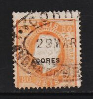 Azores - #53a used, cat. $ 110.00